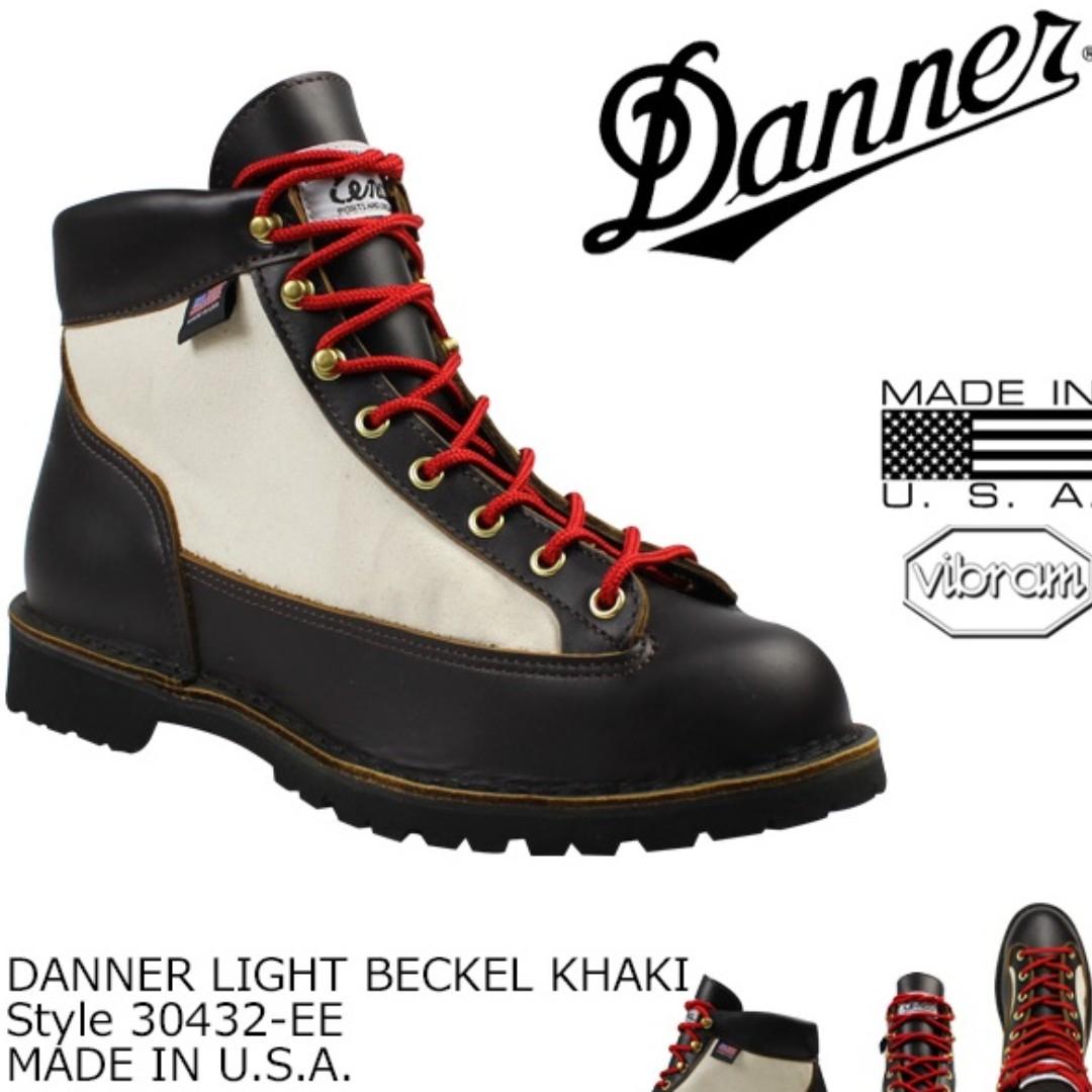9c6dee354c53b 全新有單Danner Light x Beckel Khaki 行山靴工裝鞋