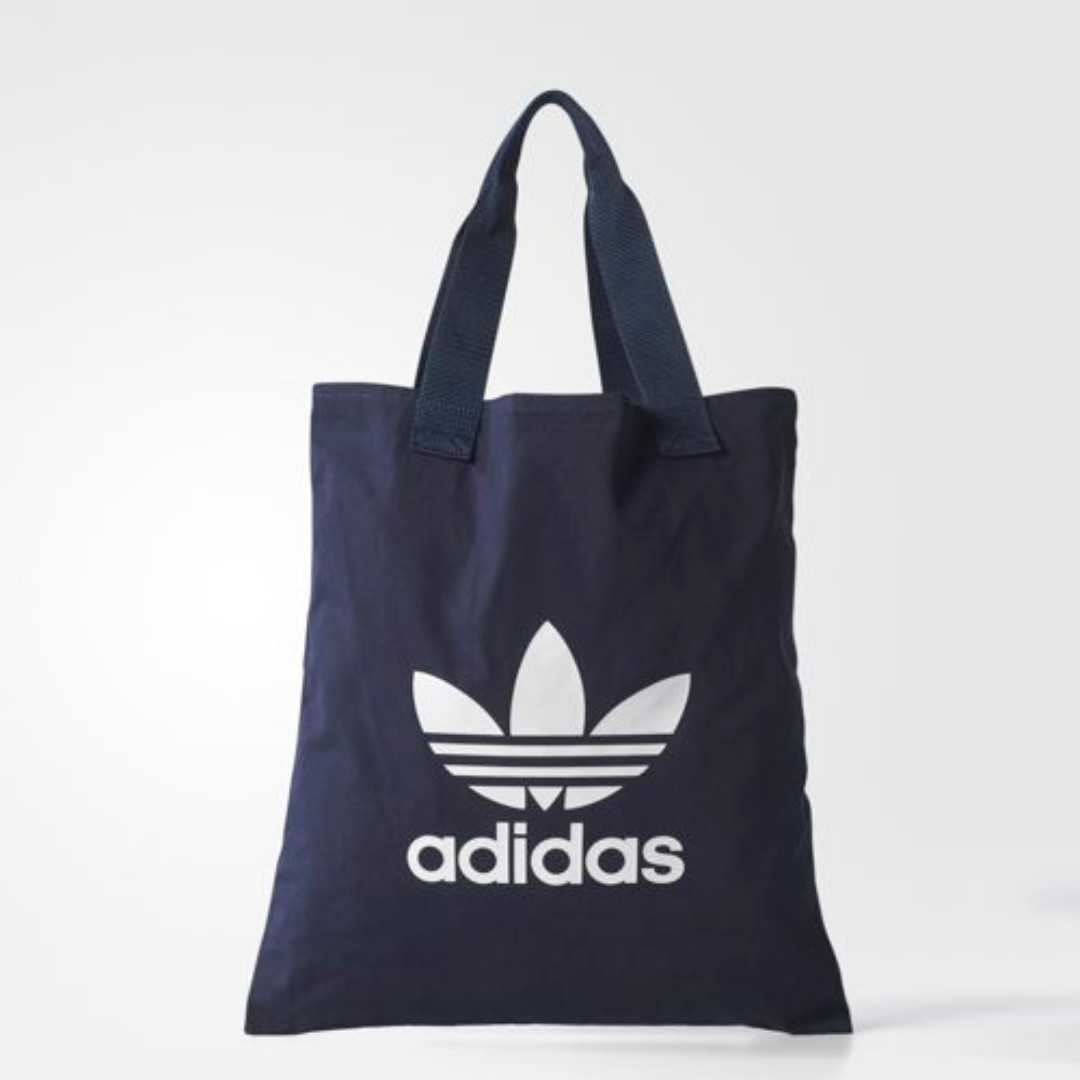 00f22628647 ADIDAS TOTE BAG (NAVY), Men s Fashion, Bags   Wallets, Sling Bags on ...