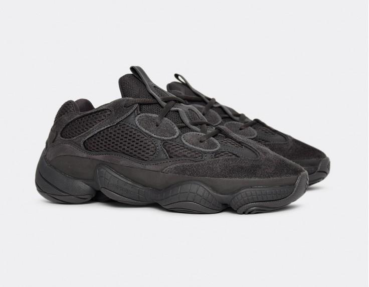 547fe58b9 Adidas Yeezy 500 UTILITY BLACK