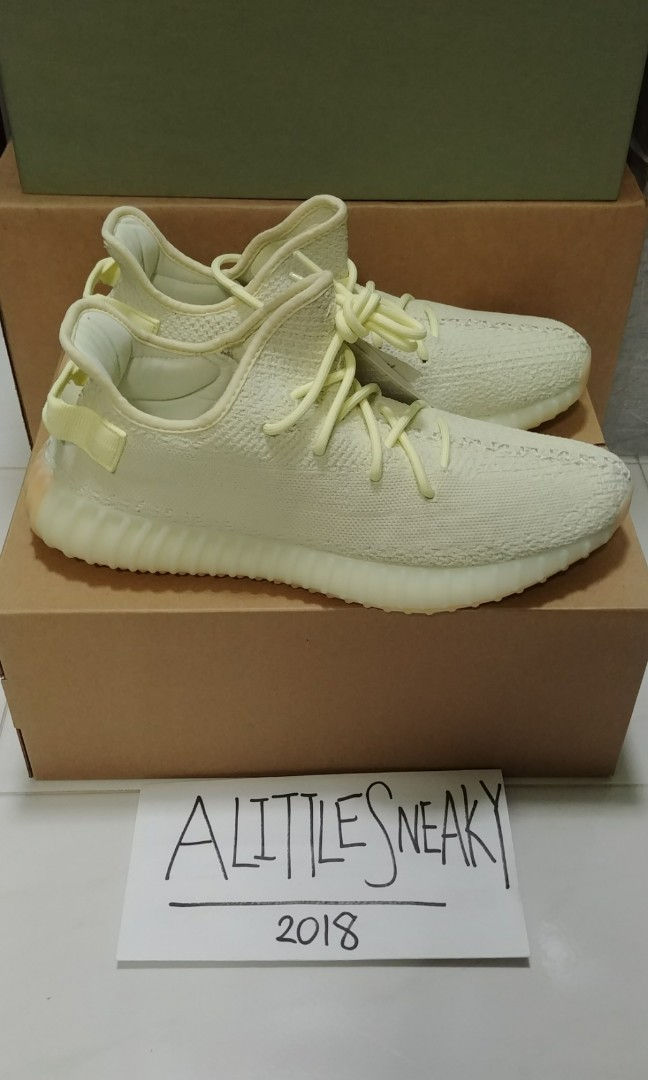 best website 012d9 7e553 adidas Yeezy Boost 350 V2 Butter F36980 UK 10.5 US 11, Men s Fashion ...