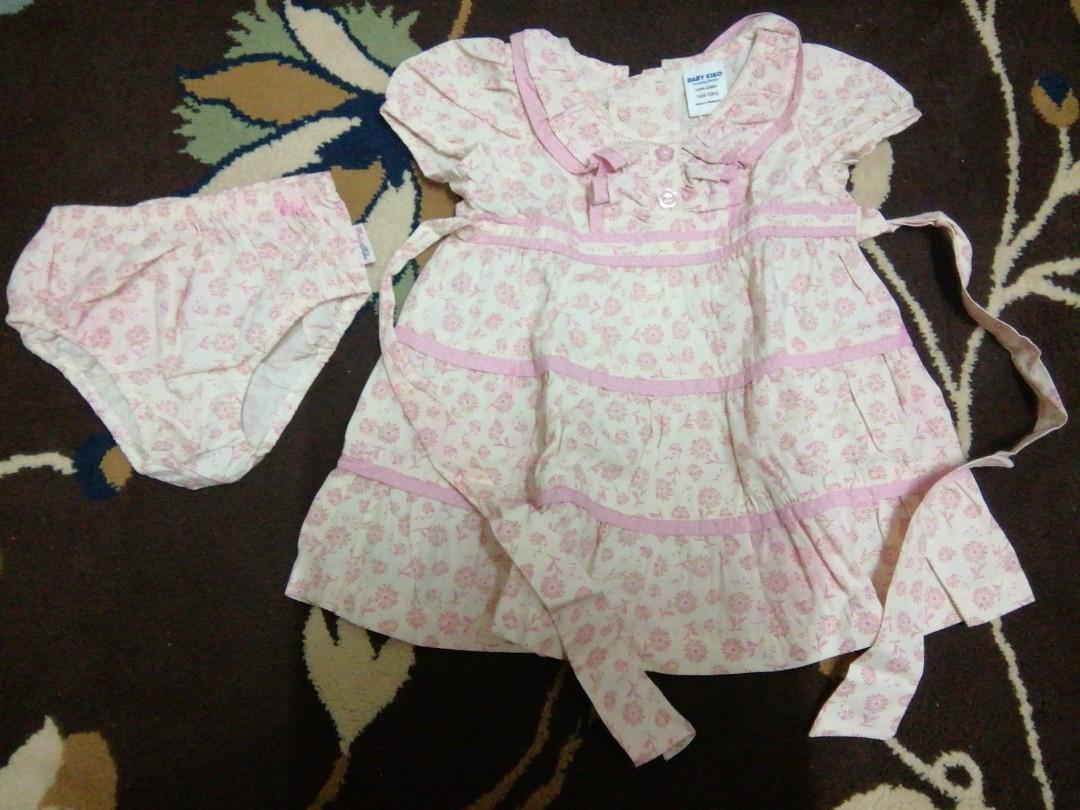 Dress Anak Pink Flower6 Daftar Harga Termurah Dan Terlengkap Di Gamis Bayi Berompi Motif Flower Hello Kity 6 12 Bln Available 4 Color Photo