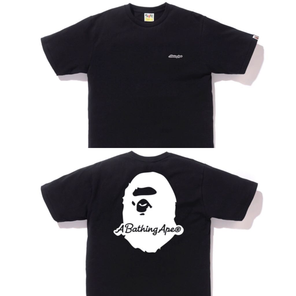 314371983b44 BAPE A BATHING APE PATCH TEE