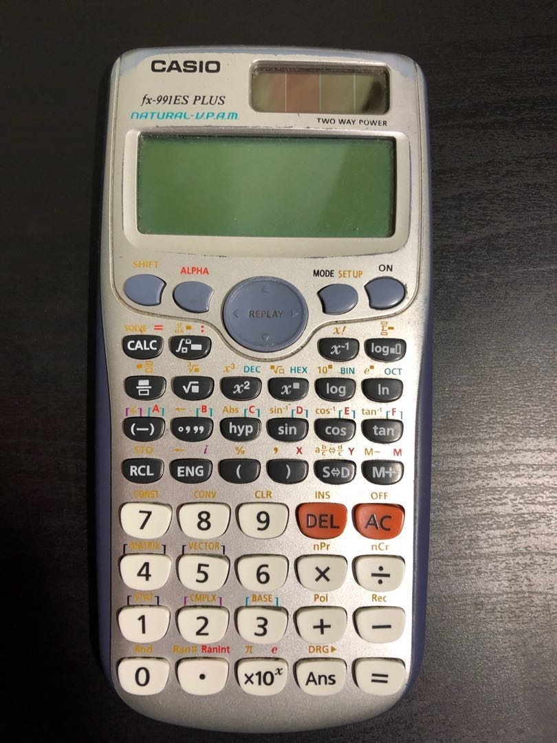 Calculator Casio Fx991es Plus Electronics Others On Carousell Photo
