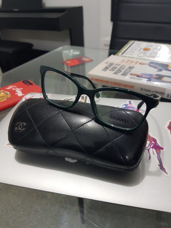 a78426b6d8f5 CHANEL 3332 C.1459 eyeglasses optical frame 52mm, Women's Fashion ...