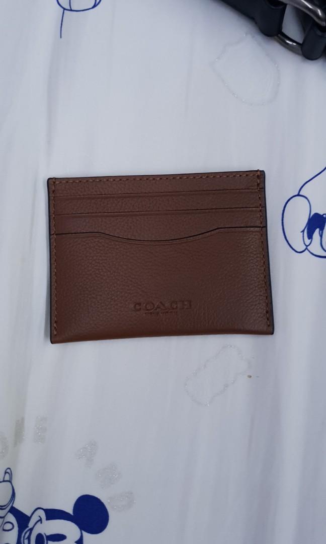 6b0a4f1d Coach genuine leather Card Holder sale