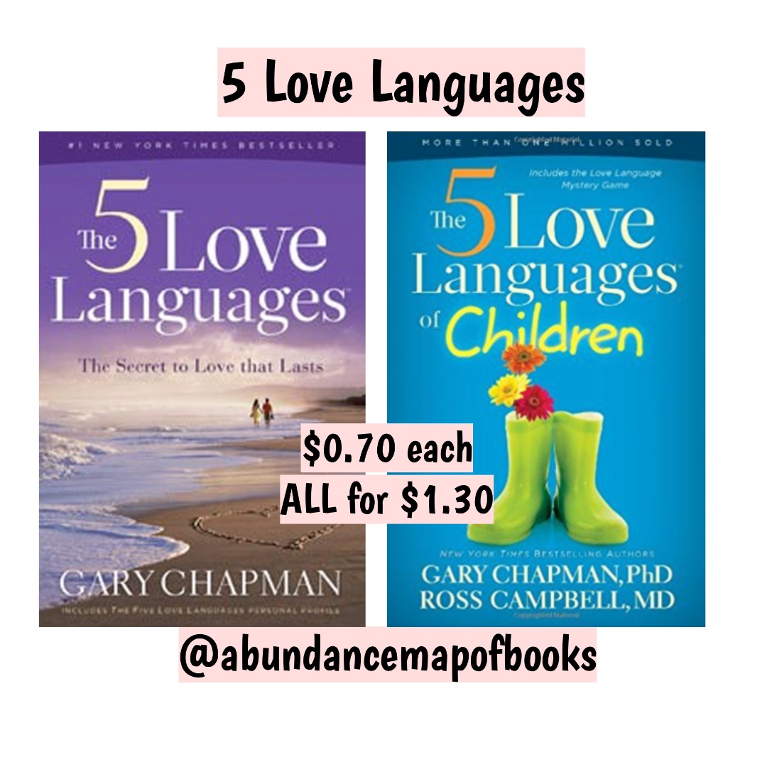 Ebook The Five Love Languages Book By Gary Chapman Books