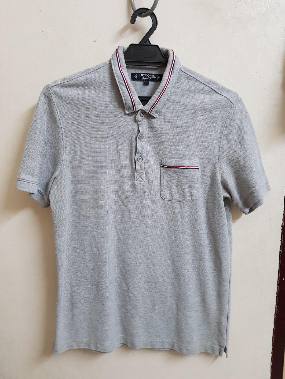 5e3dc42d G2000 - Grey Polo Tee, Men's Fashion, Clothes, Tops on Carousell
