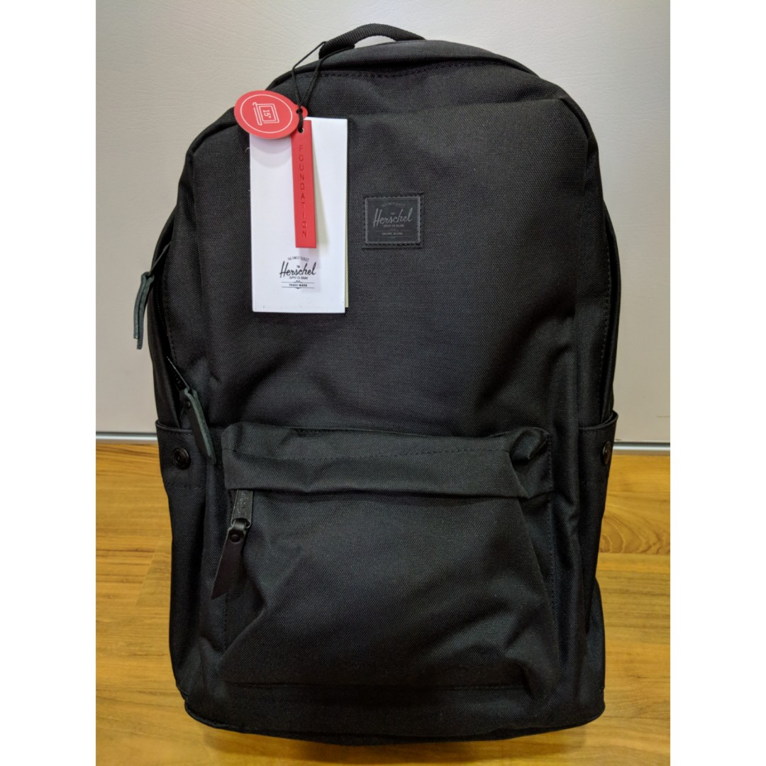 0c0187c209f Herschel Winlaw Foundation Backpack, Men's Fashion, Bags & Wallets,  Briefcases on Carousell