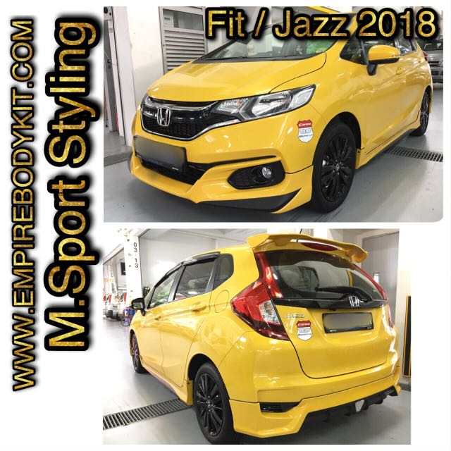 Honda Jazz 2018 Bodykit Car Accessories Accessories On Carousell