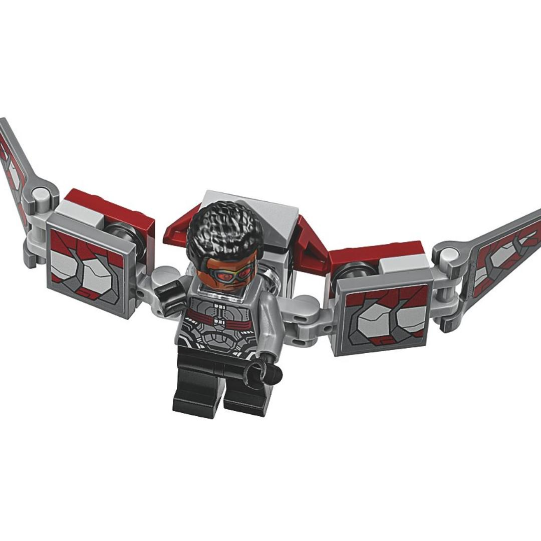 LEGO Infinity War Falcon Minifigure 76104 Mini Fig Avengers