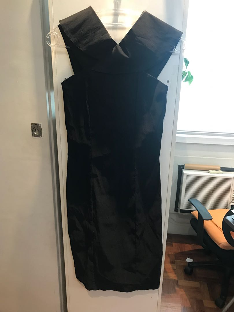 8e1866a254f7 Mags formal black off-shoulder cocktail dress (never used)