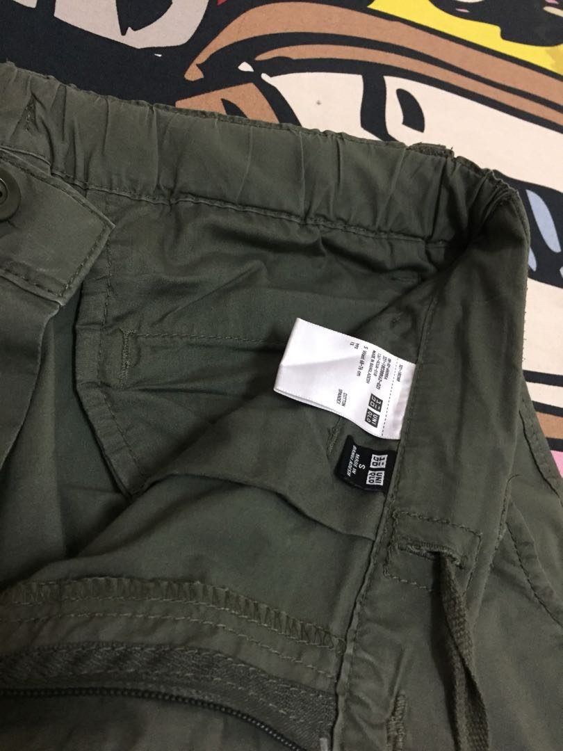 80be1630 Men roll up 3/4 cargo pants, Men's Fashion, Clothes on Carousell