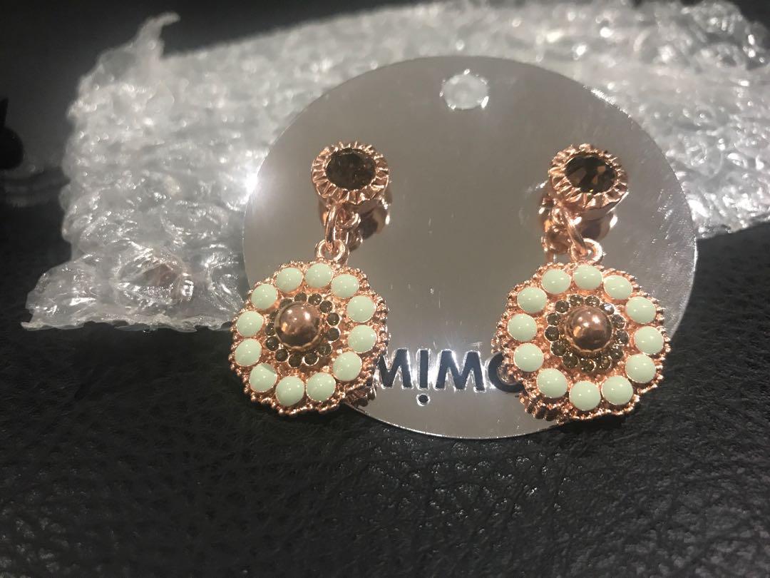 Mimco drop earrings