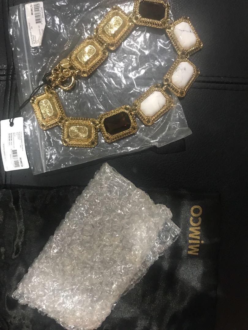 Mimco Gem necklace