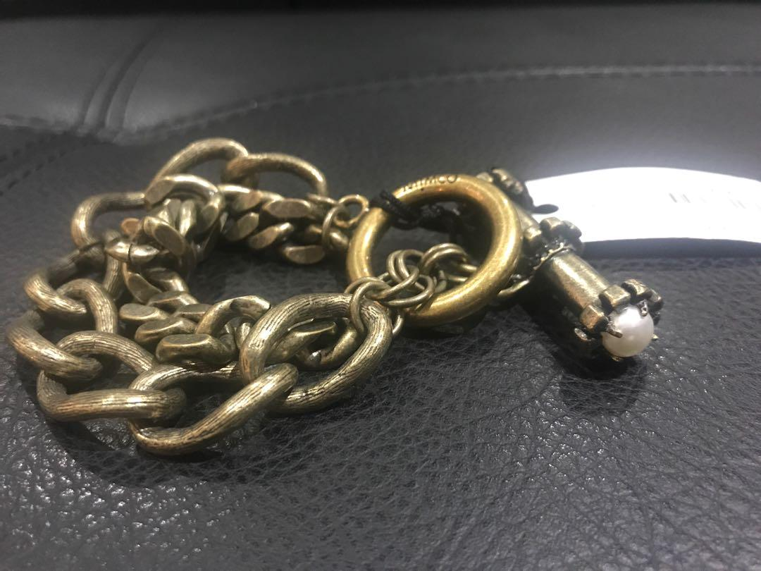 Mimco Sands of time Chain Wrist