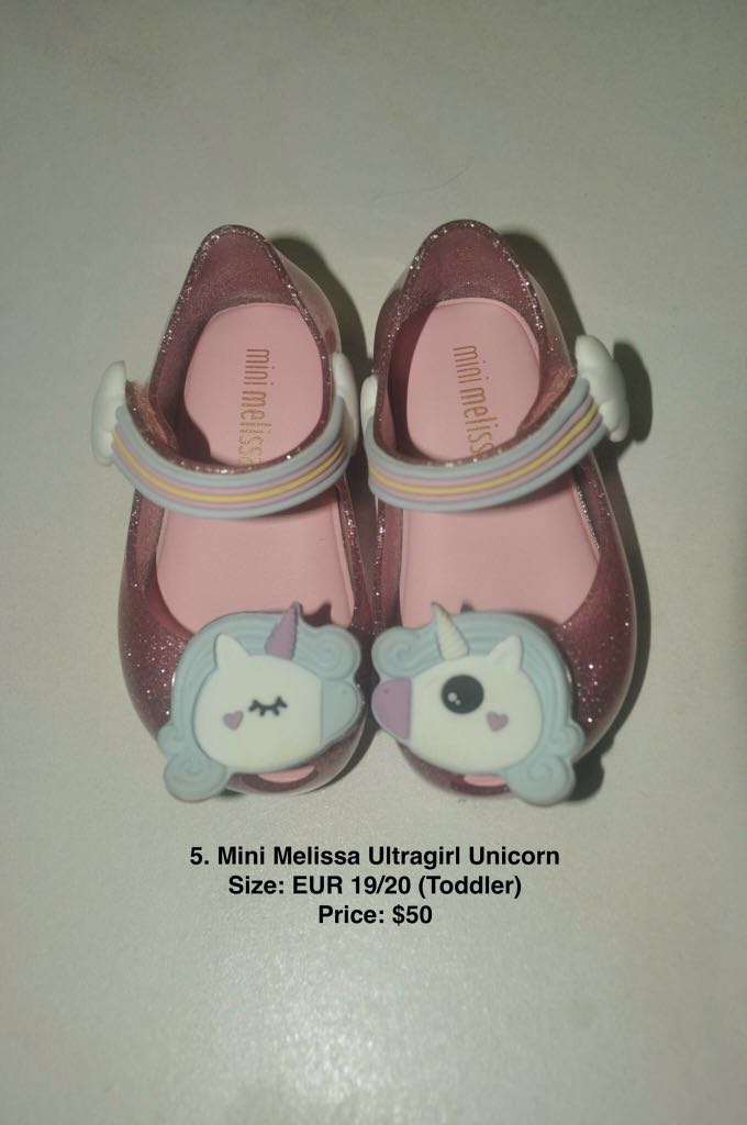 2a86a0bd8ab1 Mini Melissa - Mini Melissa Ultragirl Unicorn
