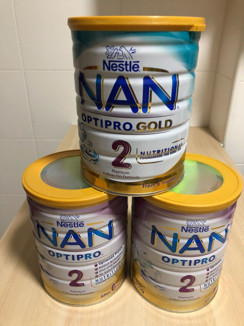 Nan Optipro 2 Formula Milk (3 Tins)