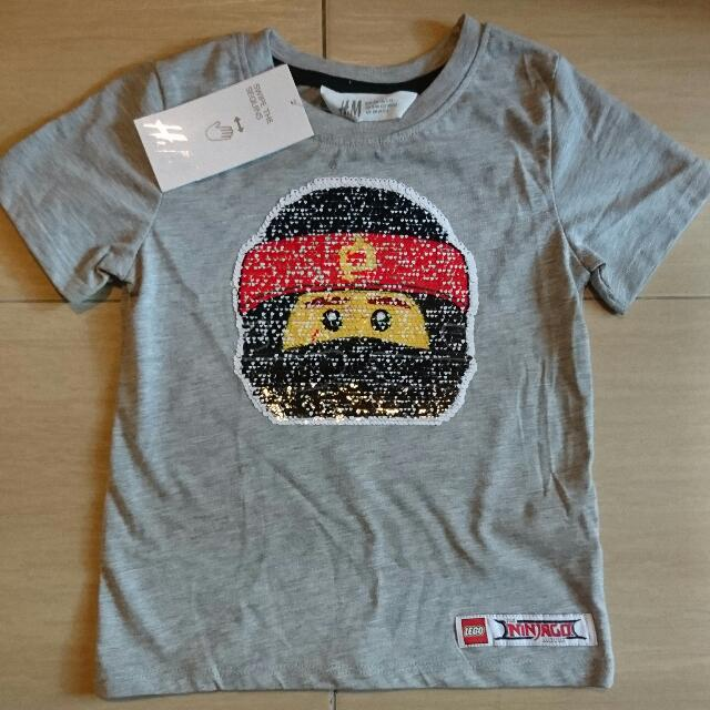 01d89a6d New In Tag H&M Lego Ninjago Movie Kai Lloyd interactive reversible sequins Boy  T-shirt Tee 3-4y, Babies & Kids, Boys' Apparel on Carousell