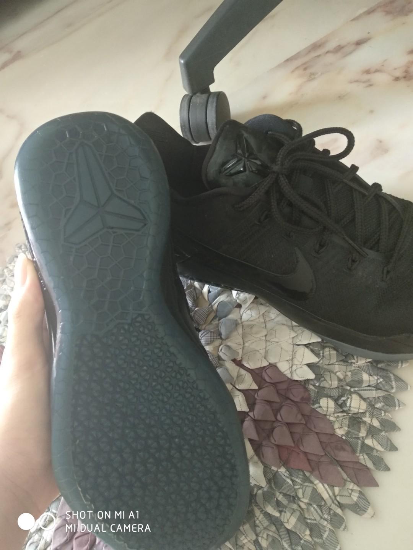 Nike Kobe Ad Triple Black Us 10 Men S Fashion Footwear Sneakers On Carousell