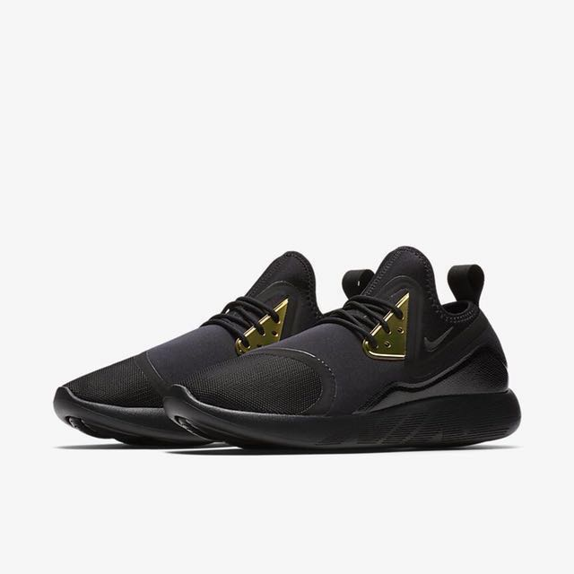 6a824400552 Nike LunarCharge Black Gold