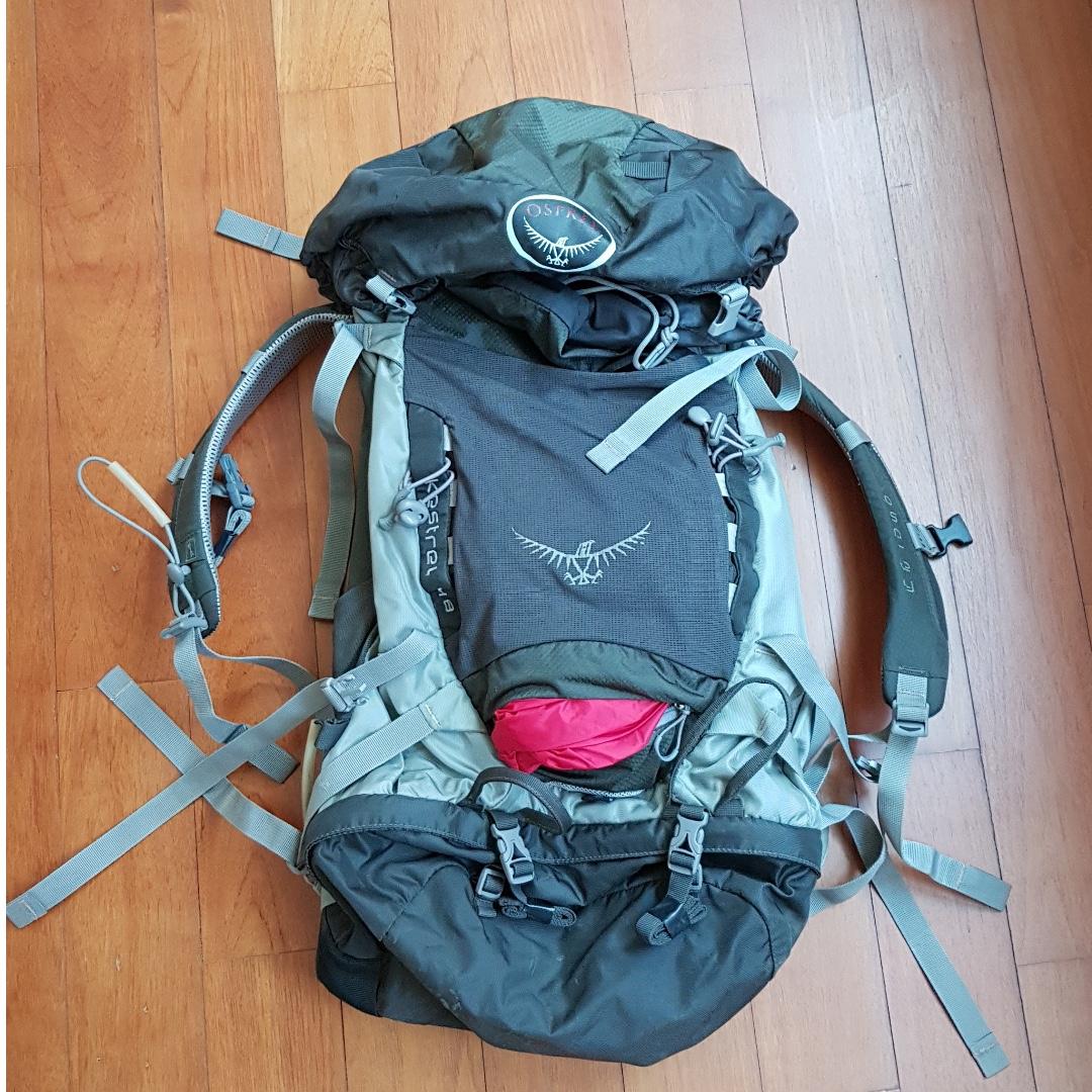 504033466 Osprey Kestrel 48 Backpack M/L, Men's Fashion, Bags & Wallets ...
