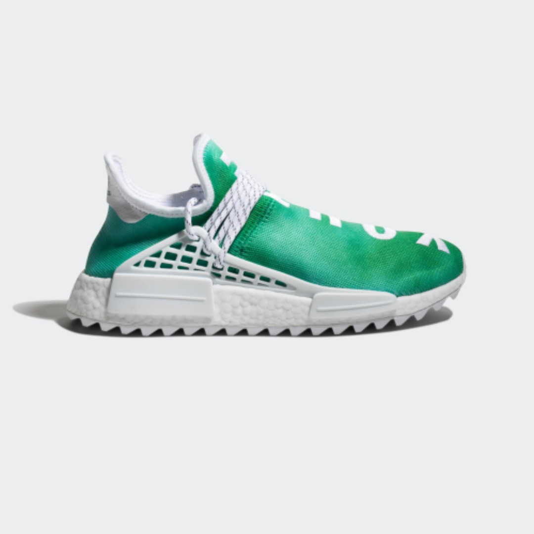 cheaper 3a1ad 0d1ca Pharrell Williams HU HOLI NMD GREEN (China Exclusive), Men s Fashion ...