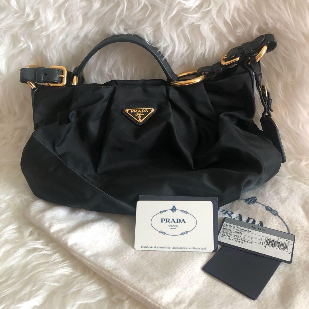 8038e92eb21b Prada Women Bag Sacca Sottospalla