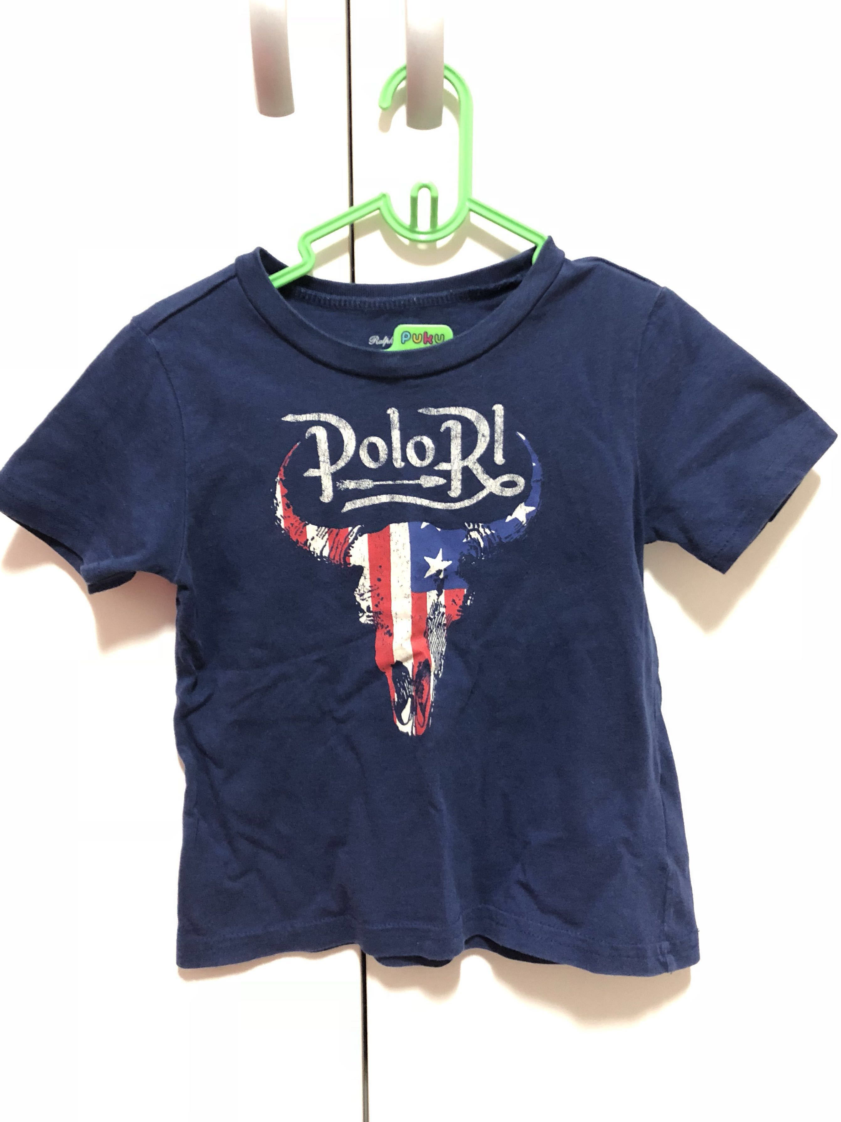 6fa7dacd03 Preloved authentic Polo Ralph Lauren RL T shirt 18m