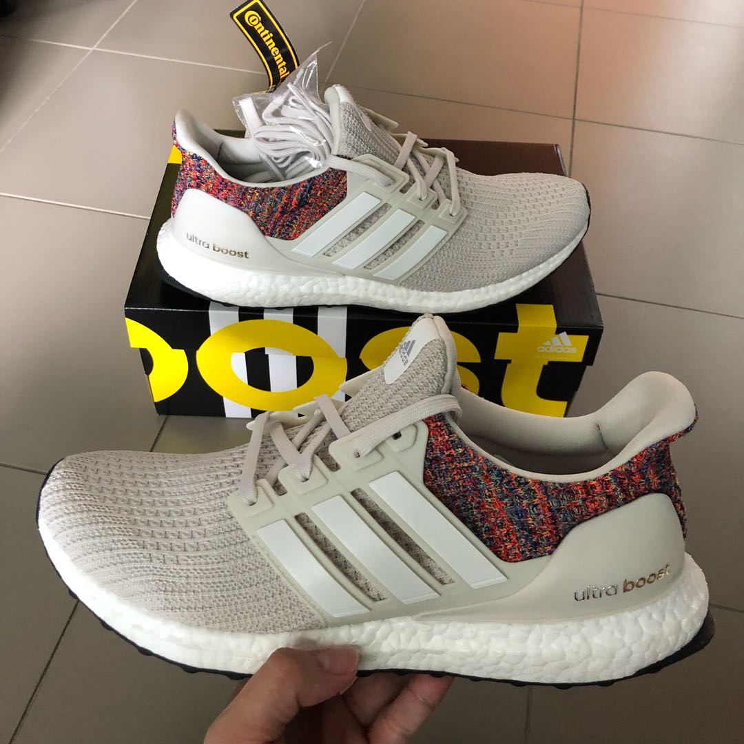 1d04ce776b81e Price Firm   No Trade us10 Adidas Miadidas Ultraboost boost Cream ...