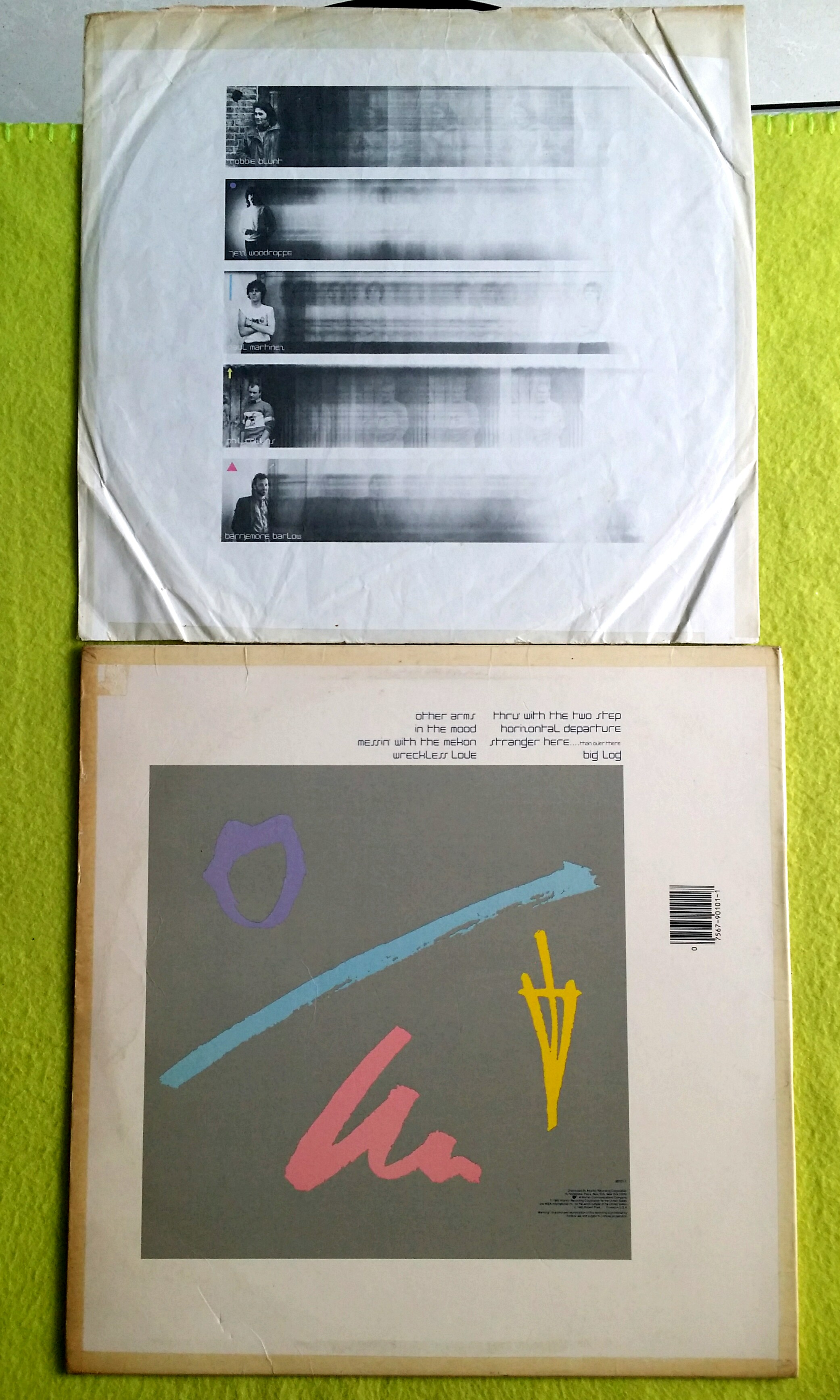 a077d152d ROBERT PLANT (Lead vocalist of Led Zeppelin) the principle of moments.  Vinyl record, Vintage & Collectibles, Vintage Collectibles on Carousell