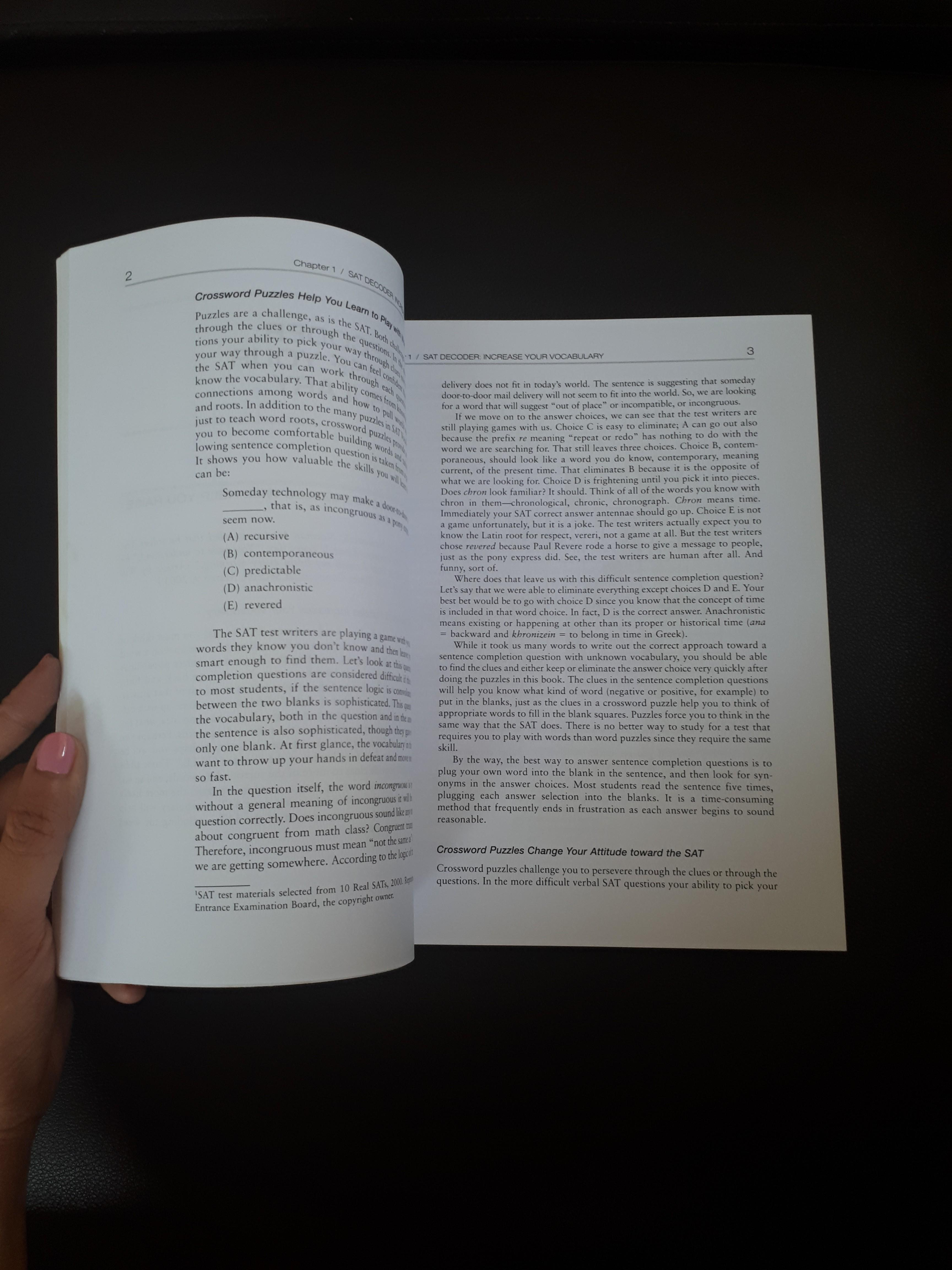 🌼 SAT Vocabulary Express, Books & Stationery, Textbooks on
