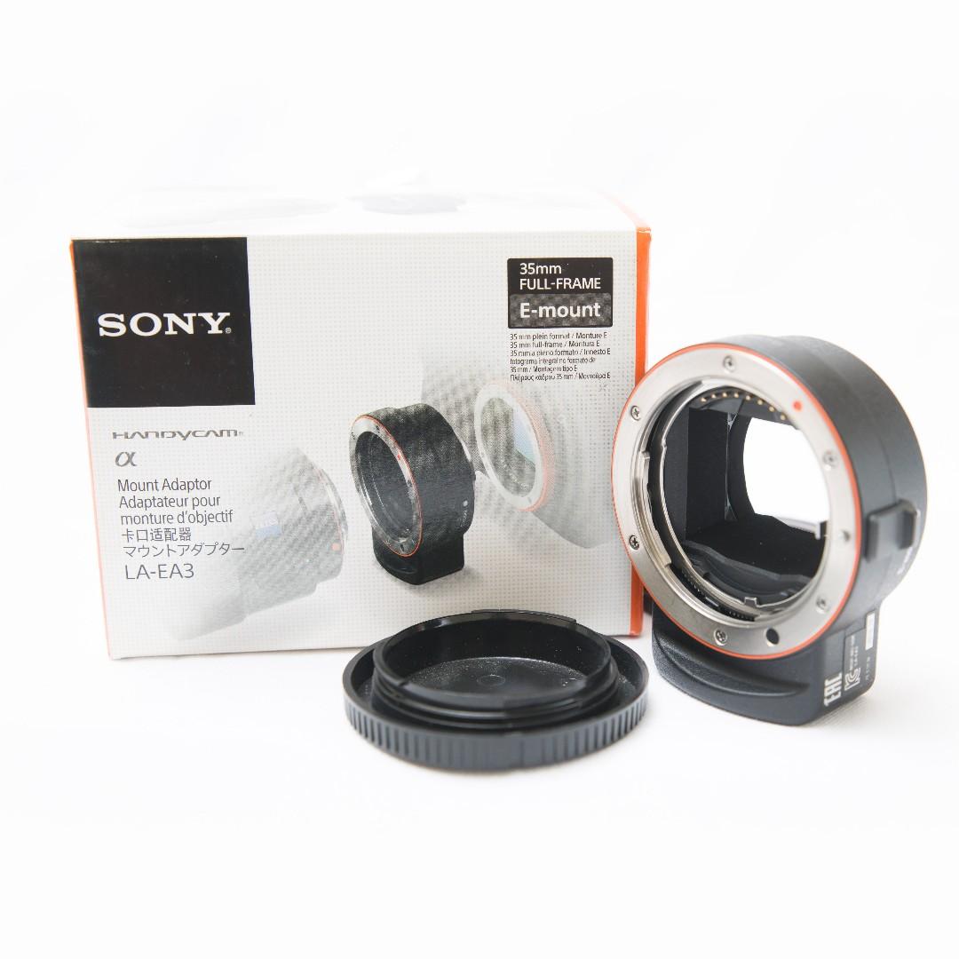 Sony LA-EA3 A-Mount to E-Mount Full Frame Lens Adapter, Kamera di ...