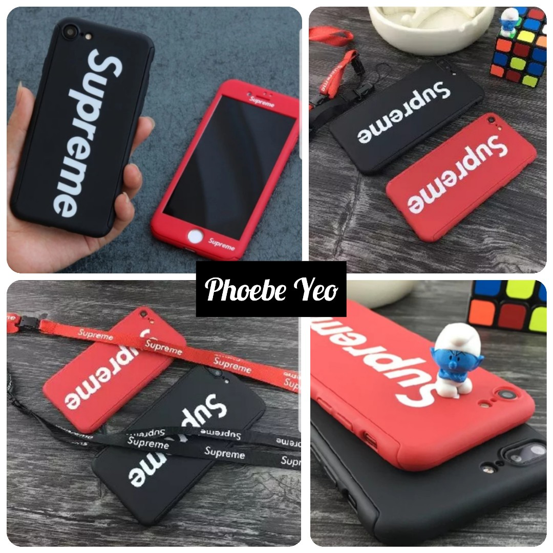 competitive price b78dc d1997 Supreme* iPhone Case with lanyard