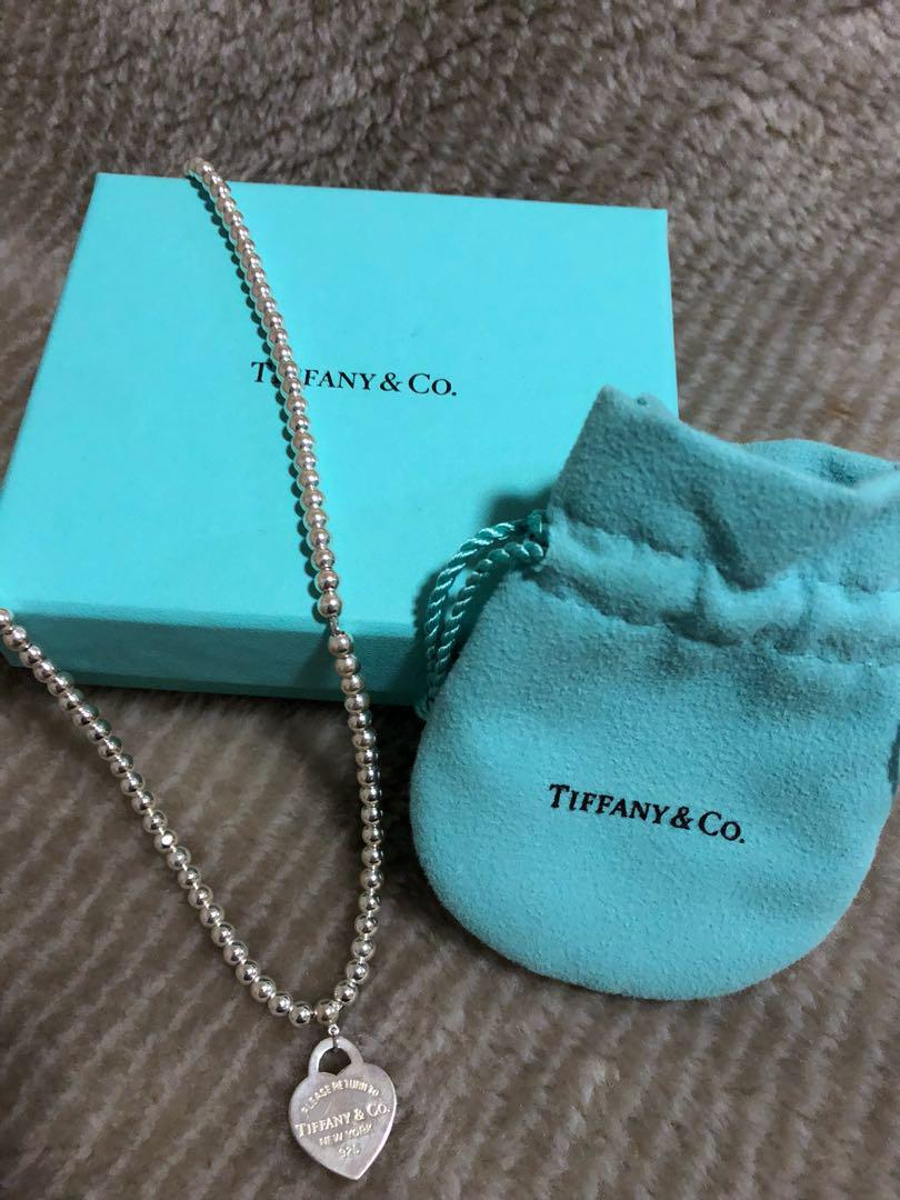 Tiffany and Co beaded necklace