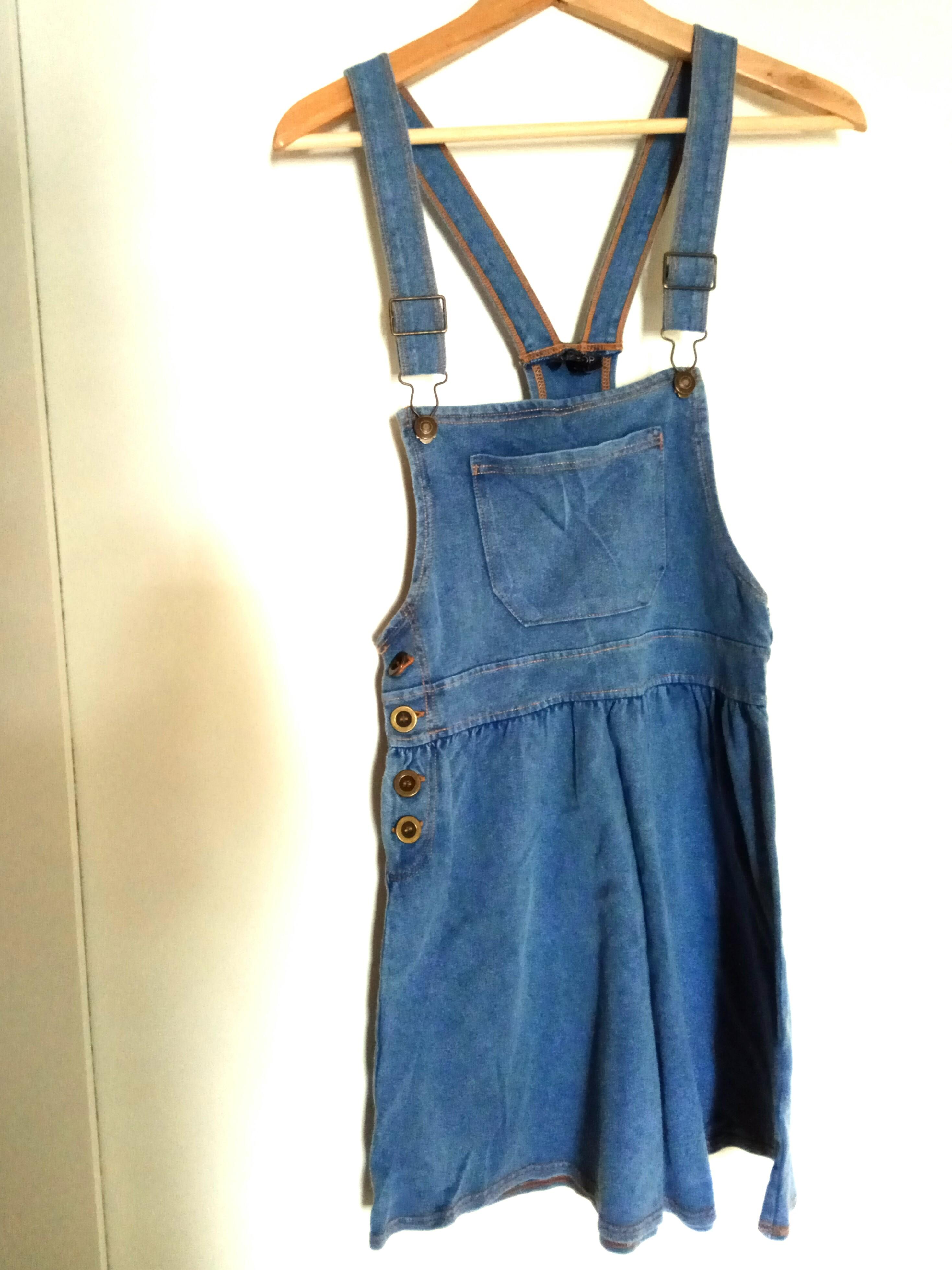 8879e41fca Topshop Denim Overalls, Women's Fashion, Clothes, Rompers ...