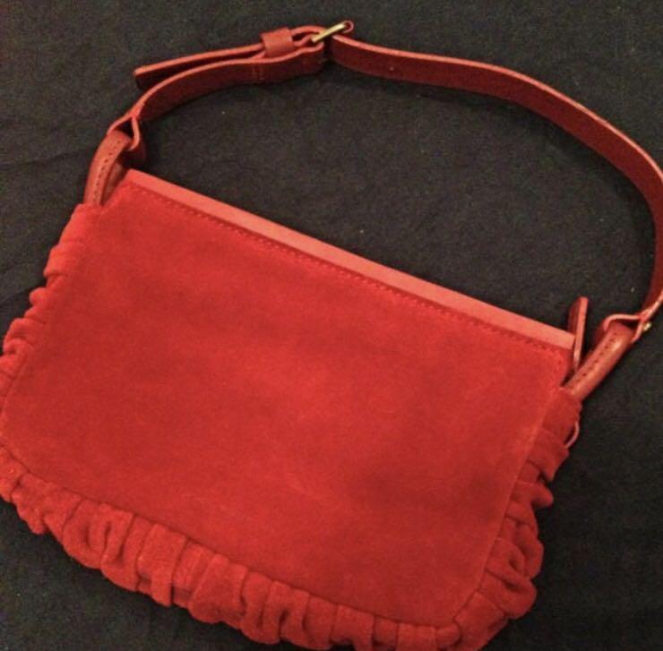 Via spiga red purse, Women's Fashion