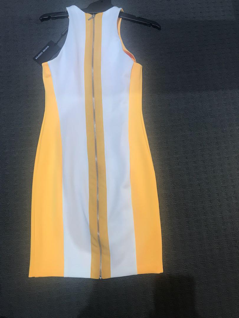 Wayne Cooper colour block dress