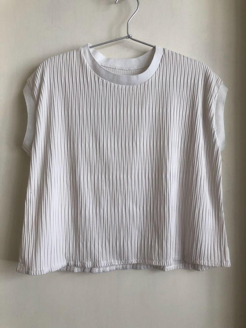 c8b94674574b9 White Top summer top 白色上衣