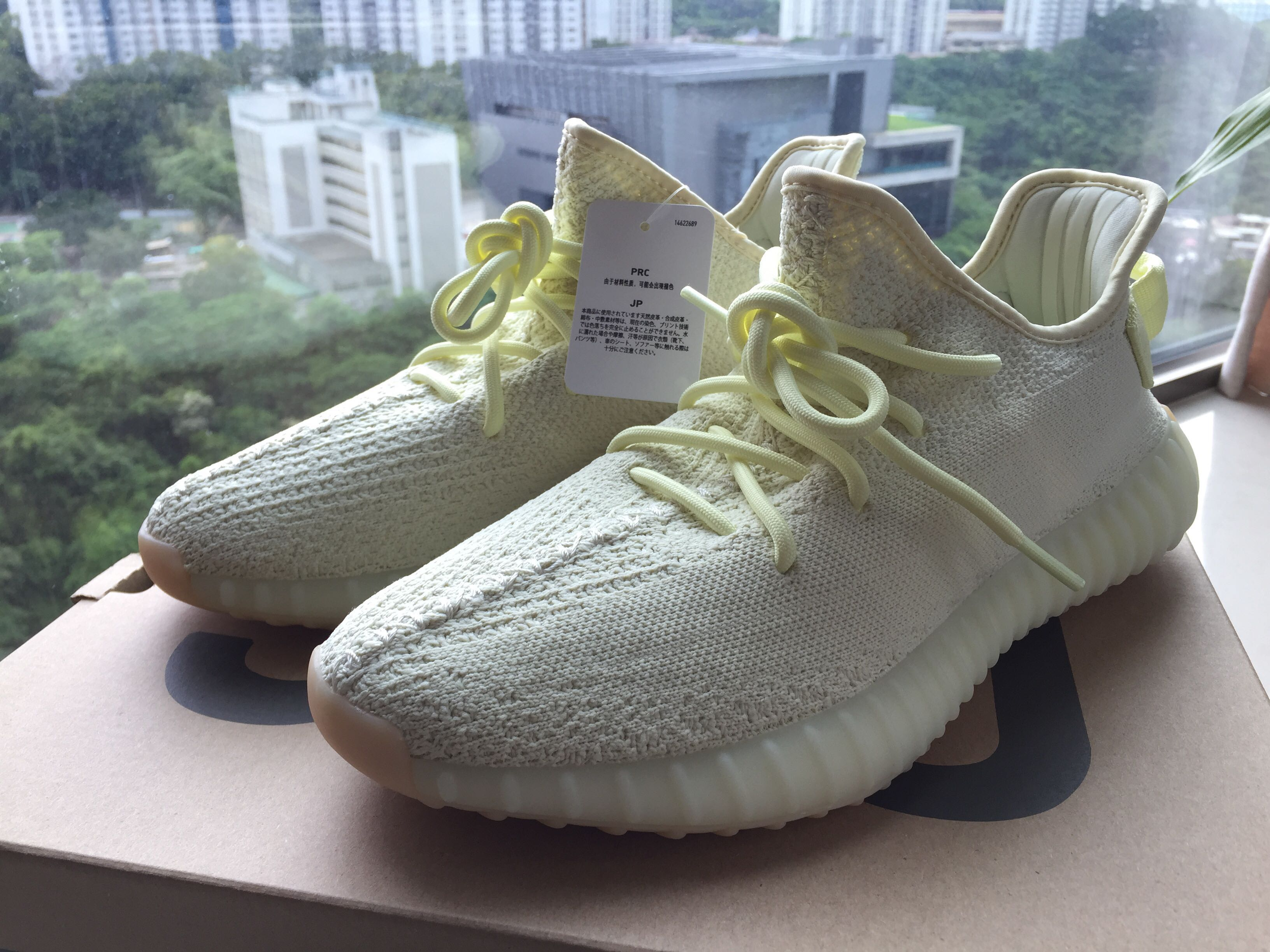 a3d4f1bfcb7b0 Yeezy Boost 350 V2 butter US9 UK8.5 500 700 Nike element 87 offwhite ...