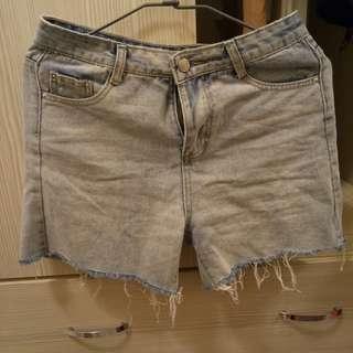 🚚 全新復古牛仔短褲