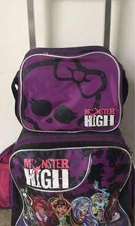 Monster High Trolley Bag