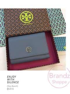 🍀🍀🍀Hot Item! 💯% Original Tory Burch Robinson Flap Wallet (Medium Size) Ready Stock!