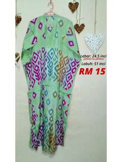 Baju kelawar / baju tidur