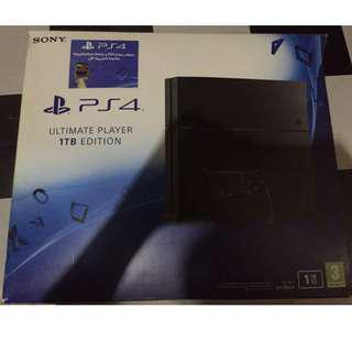PS4 1TB with accessories RUSHHHH
