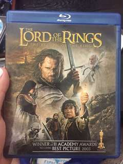 lord of the rings, return of the king