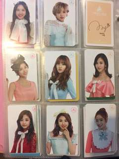 Twiceland photocards