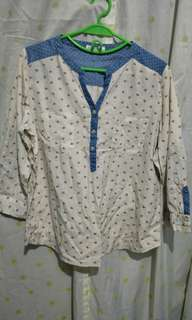 Paper Dolls polo blouse XL