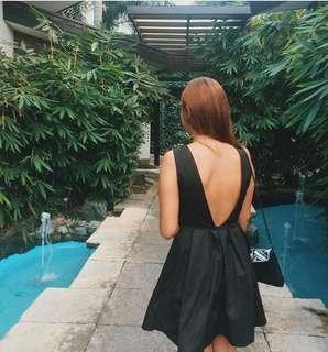Black Formal Fit & Flare Dress