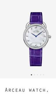 Hermes style watch