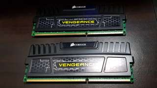 Corsair Vengeance 8gb 2x4G DDR3 1866 Mhz RAM